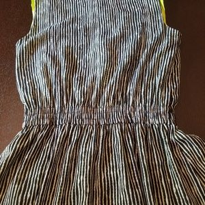 Vince Camuto Dresses - VINCE CAMUTO- Black and White Striped dress